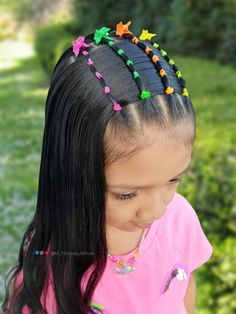Peinado para niñas Cute Toddler Hairstyles, Cool Braid Hairstyles, Formal Hairstyles, Girl Hair Dos, Baby Girl Hair, Little Girl Hairdos, Hair Patterns, Hair Remedies For Growth, Cool Braids