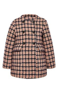 Checked Coat by Bonpoint #bonpoint