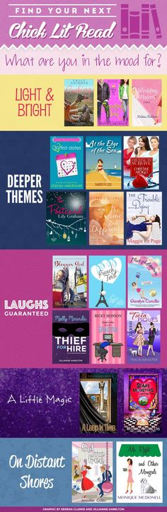 WIN one of these Awesome CHICKLIT Books for your Next Beach Read!  #ChickLit #WomensFiction #BeachRead