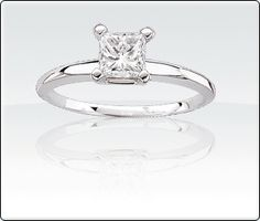 1-1/2ct. Brilliant-Cut Diamond Solitaire Engagement Ring