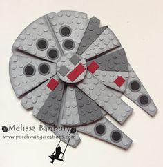 Lego Star Wars Punch Art Battleships!