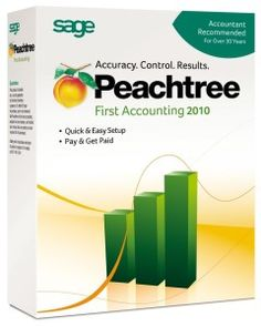 Old Version - Peachtree By Sage First Accounting 2010