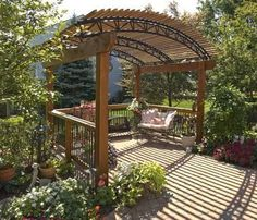 pergola, outdoor space