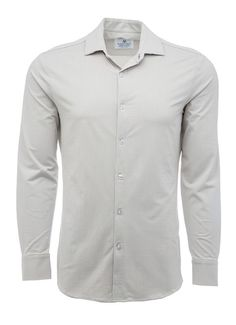 YUNY Men Button-Down-Shirts Floral Design Woven Elegant Shirts Black L