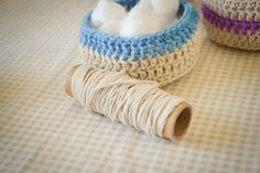 Loving…crochet baskets