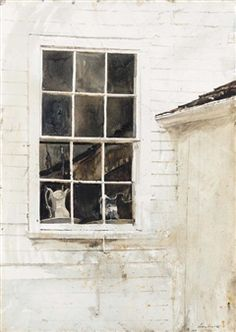 Pantry Window By Andrew Wyeth