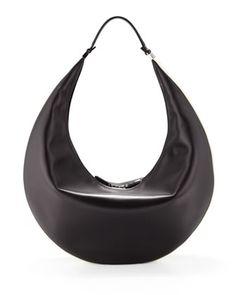 Bicolor Zip Hobo Bag, Black/White by THE ROW Couture Bags, Beautiful Bags, Hobo Bag, Fashion Bags, Neiman Marcus, Sneakers, Shopping Bag, Purses And Bags, Handbags