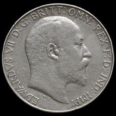 1905 Edward VII Silver Florin – Rare – AVF