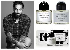 #byredo founder and CEO Ben Gorham, coolest perfumier!