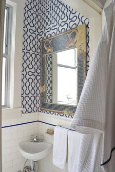 Eva9_rect640. Vivienne Westwood for Cole & Son wallpaper Squiggle.