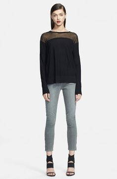 Helmut Lang Illusion Yoke Sweater available at #Nordstrom