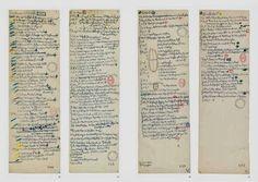 Walter Benjamin's notebook entries