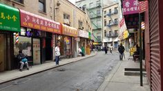 The curviest street of NYC.  Doyer street!