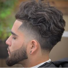Hairstyles For Wavy Hair Men 121689 Men Hairstyle Wavy Curly Hair Men S Wavy Fade Hairstyle Wavy Hair Men Curly Hair Men Pin On Hair Did 50 Curly Haircuts Hairs Wavy Hair Men, Curly Hair Cuts, Long Curly Hair, Curly Hair Styles, 3b Hair, Frizzy Hair, Kinky Hair, Afro Hair, New Men Hairstyles