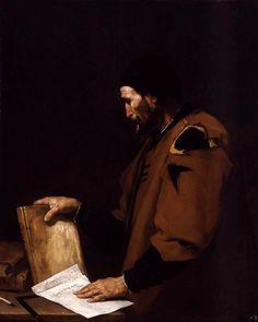 """José de Ribera 1637 """"Aristotle"""""""