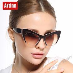Luxury design fashion style sunglasses womens UV400 protection femal sun glasses cat eye design most fashion looking 88260