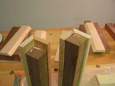 Staggered Steps Endgrain Cutting Board
