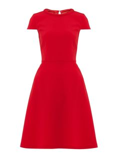 A cute little dress for a petite guest to pull off.