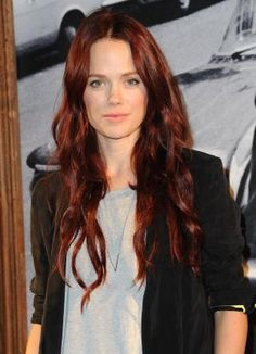 Red hair has become more popular recently. Here we feature 20 gorgeous redheads and show you how to get the best red hair color.: Katia Winter