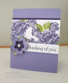 #dostamping, #stampinup, #dostamping, #papercrafting, #diy, #cardmaking, #stippledblossoms, #thursdaychallenge