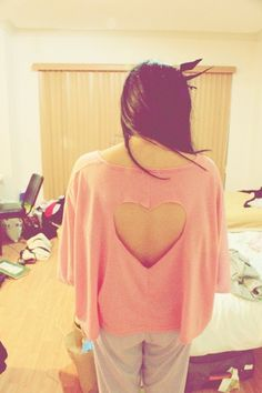 DIY Heart on your Back Shirt