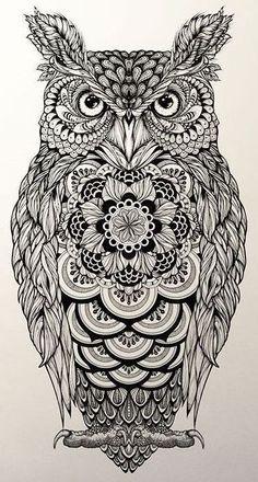 Каталог эскизов тату с совами, идеи для разработки индивидуального дизайна, фотографии татуировок. Значение тату с совой.