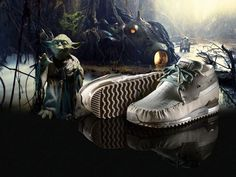 Adidas Goes Geek 2010 Star Wars Edition Sneakers! - Star Wars Shoes - Ideas of Star Wars Shoes - Star Wars Shoes, Branding, Star Wars Gifts, Star Wars Collection, Adidas Shoes, Adidas Originals, Hiking Boots, Kicks, Geek Stuff