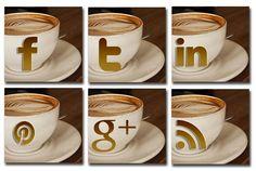 Coffee Social Media Icons