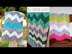 Chevron Baby Blanket: Video Tutorial – Espace Tricot Blog