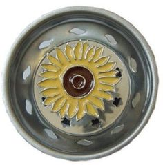 Choose a sunny yellow or pewter sunflower sink strainer to add some fun while doing your dishes. Dishes have got to be done, so why not dress up your kitchen sink with a little sunshine. These strainers fit most standard kitchen sinks. These decorative kitchen strainers do everything an ordinary one does like help prevent …