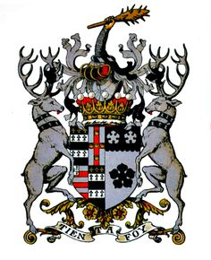 # Heraldry. Arms of Seymour 7th Earl Bathurst