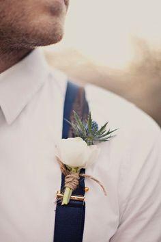 um, YES. My groom is wearing suspenders... by Rachel J Wainwright