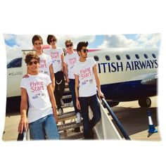 "One Direction Pillowcase Covers Standard Size 20"" ($15.18)"