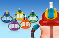 Nuby Flip n Sip Cup, Perfect for little ones learning to drink upright! #nuby #nubyusa