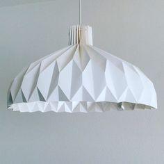 LILLY Origami Lampenschirm  Papierlampe für Flur