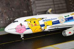 All Nippon Airways – ANA Boeing 747-400  JA8962 Pokemon Livery   BBOX 1:200