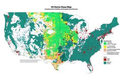 US Storm Chase Map