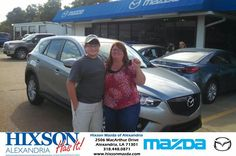 Congratulations to Theresa Johnson on your #Mazda #Cx-5 purchase from Brandon Martin at Hixson Mazda of Alexandria! #NewCar