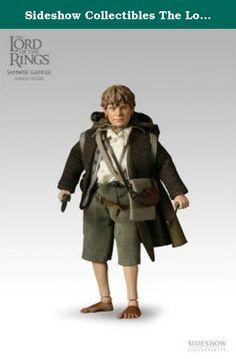 Sideshow Collectibles The Lord of the Rings 1/6th Scale Action Figure Samwise Gamgee. Figurine articulée taille env. 23 cm avec vêtements tissu, socle et nombreux accessoires. Modèle en édition limitée livré en boîte-vitrine de collection.