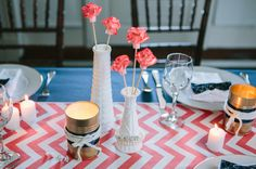 DIY Soup Can Votive Holders | photography by http://www.ariellephoto.com