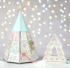 6 Corona De Navidad De Madera Mini Adornos 4cm para elaboración de Tarjetas papercrafts