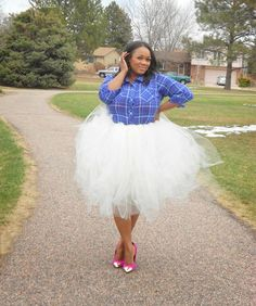 Pumps & Studz: Collaboration-The Curvy Woman In Tutus, curvy bloggers, plus size bloggers, full figure bloggers, 30+ bloggers, 40+ bloggers