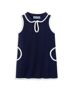 Jacadi Infant Girls' Pique Shift Dress - Sizes 6-18 Months