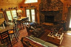 """For a cozy log cabin in the mountains, our first thought is Monty Python's """"I'm a Lumberjack."""""""
