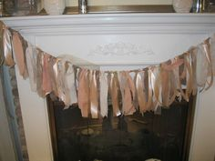 Fabric Ribbon Lace and Burlap 5 foot Wedding by BertoliBridal, $45.00