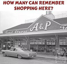 #Supermarket #Shopping #Retro #Classic #Food #Store Childhood Memories 90s, Retro Advertising, Brick And Mortar, Old Tv Shows, Good Ole, Ol Days, Do You Remember, Classic Tv, The Good Old Days