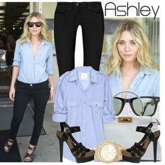 """274. Celebrity Style: Ashley Olsen"" by amber-nicki-rose on Polyvore"