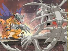 metalgreymon vs skullgreymon by charizard-aznable on DeviantArt