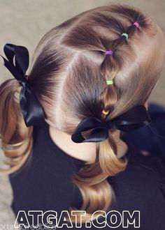 Medium Hairstyles For Girls, Girls Hairdos, Easy Hairstyles For Kids, Flower Girl Hairstyles, Girl Haircuts, Girls Braids, Little Girl Hairstyles, Boy Hairstyles, Braided Hairstyles