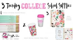 3 Trending College Back to School Supplies | Decor 2 Ur Door